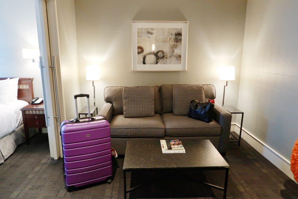 St. Regis Hotel Vancouver Bedroom 2