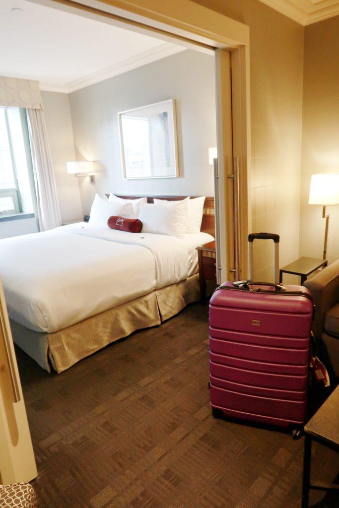 St. Regis Hotel Vancouver Bedroom 1