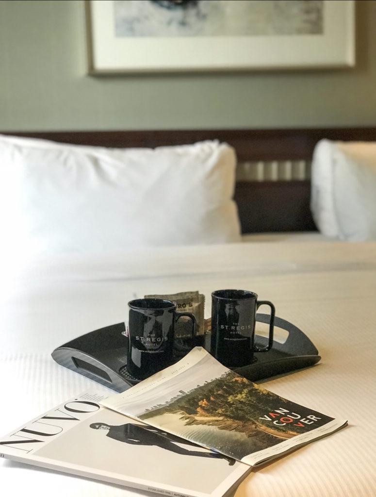St. Regis Hotel Vancouver Bedroom Pics