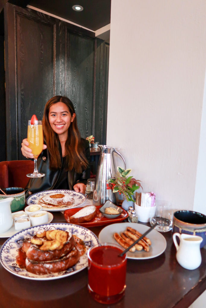 Breakfast at Sante