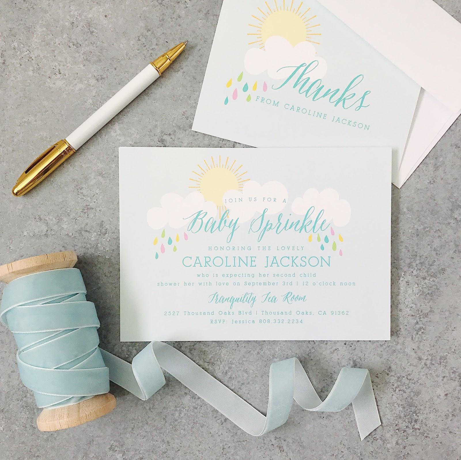 Basic Invite Stationery