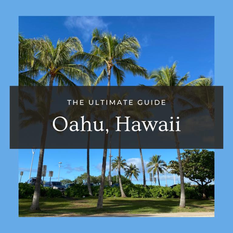Oahu Hawaii Cover
