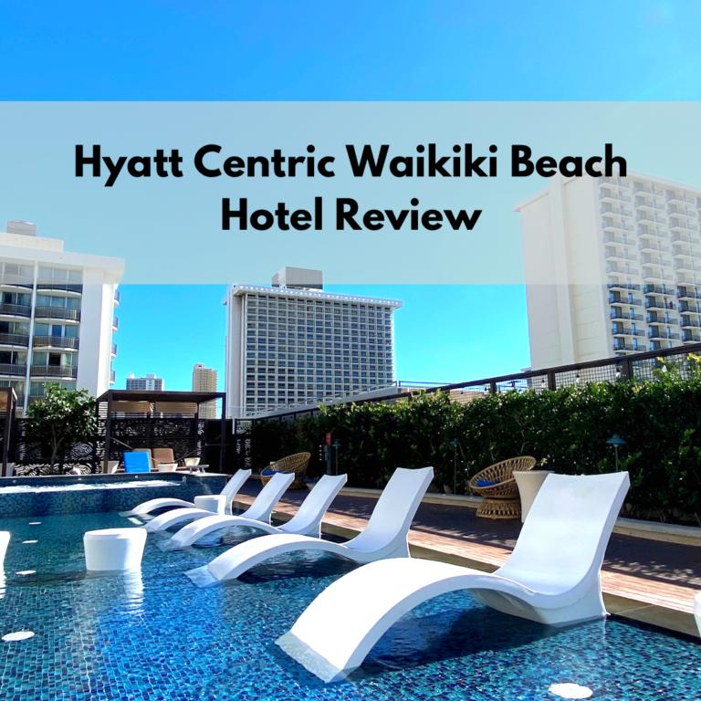 Hyatt Centric Waikiki Front cover